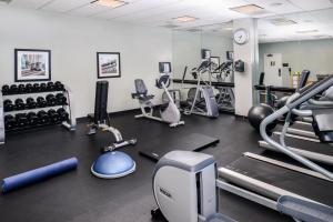 The fitness center and/or fitness facilities at Holiday Inn Charlotte Center City, an IHG Hotel
