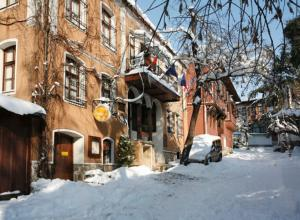 Hotel Residence Hebros during the winter