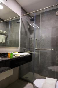 A bathroom at My Luxury Hotel