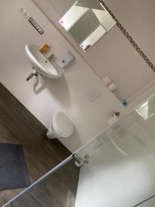 Ein Badezimmer in der Unterkunft Apartment 4