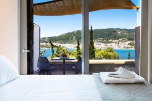 Letto o letti in una camera di Core Luxury Suites
