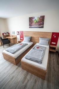 Ein Bett oder Betten in einem Zimmer der Unterkunft In-Side Hotel