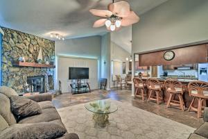 The lounge or bar area at Riverfront Home with Private Dock, Fire Pit!