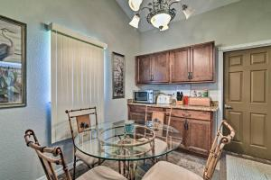A kitchen or kitchenette at Riverfront Home with Private Dock, Fire Pit!