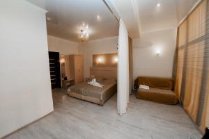 Кровать или кровати в номере Горгиппия