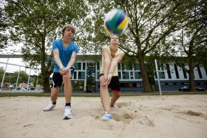Children staying at Jugendherberge Duisburg Sportpark