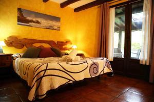 Cama o camas de una habitación en Agroturismo Maddiola