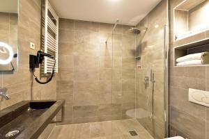 A bathroom at ART Hotel Rotterdam