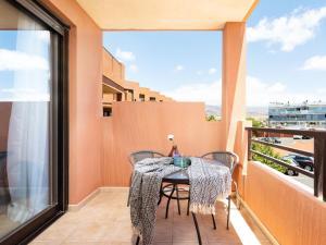 A balcony or terrace at Apartment Sunny Tejita