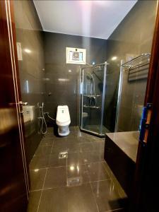 Um banheiro em باشن للفلل الفندقية