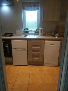 A kitchen or kitchenette at Boreland Farm