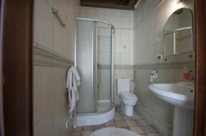 Łazienka w obiekcie Hotel Restauracja Pod Parowozem