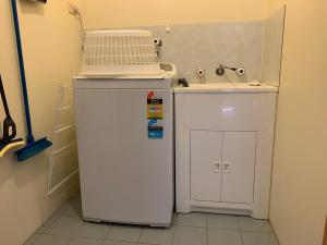 A kitchen or kitchenette at Camp Elim