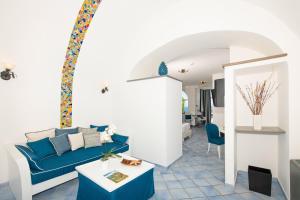 Area soggiorno di Positano Art Hotel Pasitea