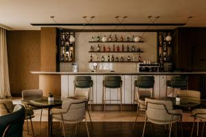 The lounge or bar area at Hilton Swinoujscie Resort And Spa