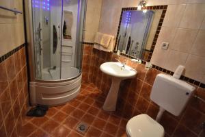 Kúpeľňa v ubytovaní Villa Diamond