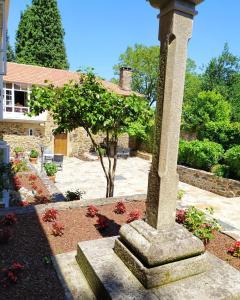 A garden outside Pazo Xan Xordo