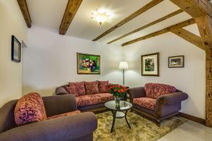 Część wypoczynkowa w obiekcie Hotel Lubicz