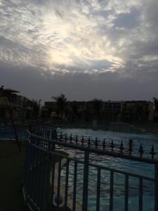 Uma varanda ou terraço em شاليه باصمد للهدوء والاسترخاء