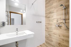 A bathroom at Hotel Bosak