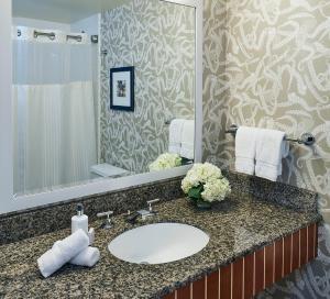 A bathroom at Argonaut Hotel, a Noble House Hotel