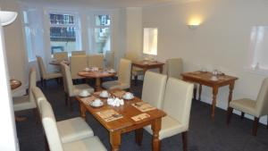 A restaurant or other place to eat at Sandyford Lodge