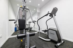 The fitness center and/or fitness facilities at BO Hotel Palazzo