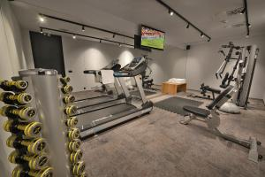 The fitness center and/or fitness facilities at Grand Hotel Hradec