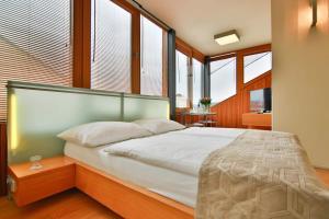 Letto o letti in una camera di Wenceslas Square Hotel
