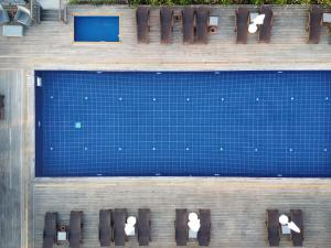 A view of the pool at Costa Farilya Special Class Hotel Bodrum or nearby