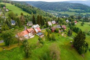 Letecký snímek ubytování Apartmány Nad Šlikovkou