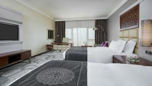 منطقة جلوس في فندق انتركونتيننتال الدوحة