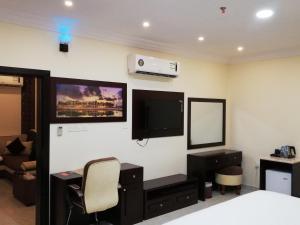 تلفاز و/أو أجهزة ترفيهية في فندق الصفا