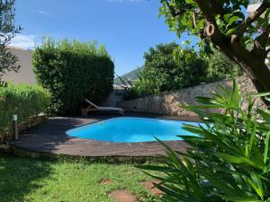 The swimming pool at or near Villa Pineland