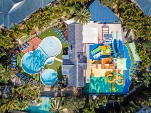 A bird's-eye view of Turtle Beach Resort