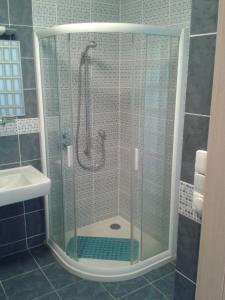 Koupelna v ubytování Apartmán Anežka