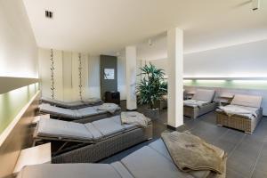 Ein Sitzbereich in der Unterkunft Göbel´s Vital Hotel Bad Sachsa