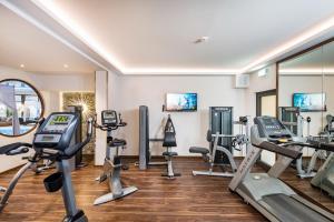 Das Fitnesscenter und/oder die Fitnesseinrichtungen in der Unterkunft Göbel´s Vital Hotel Bad Sachsa