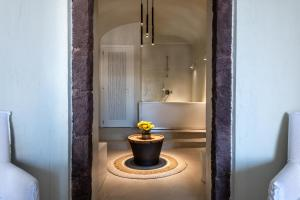 A bathroom at Mythical Blue Luxury Suites