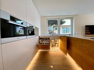 Kuchyňa alebo kuchynka v ubytovaní Apartmánový dom Castle
