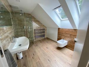 Kúpeľňa v ubytovaní Apartmánový dom Castle
