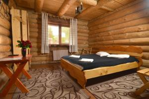 A bed or beds in a room at Drin-lux