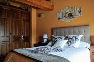 Cama o camas de una habitación en LA FUENTE DE CABANILLAS