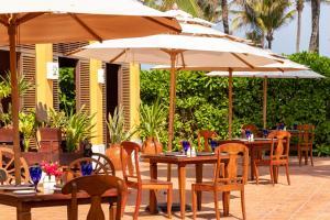 Een restaurant of ander eetgelegenheid bij Dreams Tulum Resort & Spa