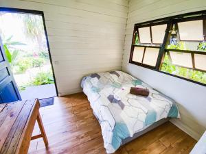 Cama ou camas em um quarto em The Lodge