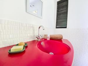 Um banheiro em The Lodge