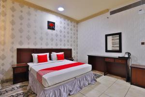 Cama ou camas em um quarto em فندق الريان