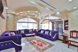 Uma área de estar em فندق الريان