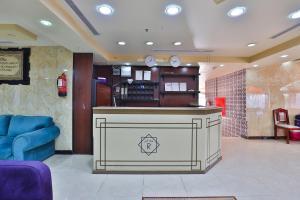 O saguão ou recepção de فندق الريان