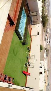 Uma vista aérea de استراحة الرونق Al Rownaq chalet